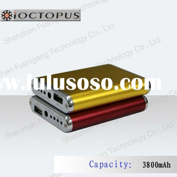 3800mAh portable mobile phone backup power for iphone,mobile phone MP3,MP4 3G,4G..etc.