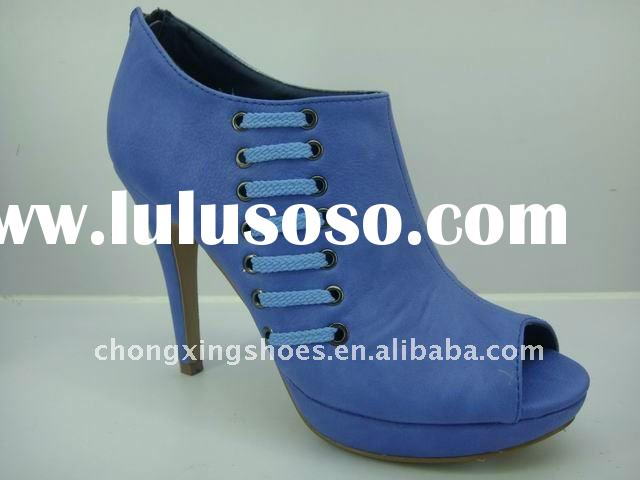 Fashionable ladies high heel shoes