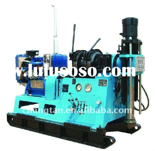 GY-300A alloy core drilling and diamond core drilling rig, core drilling depth over 300m.