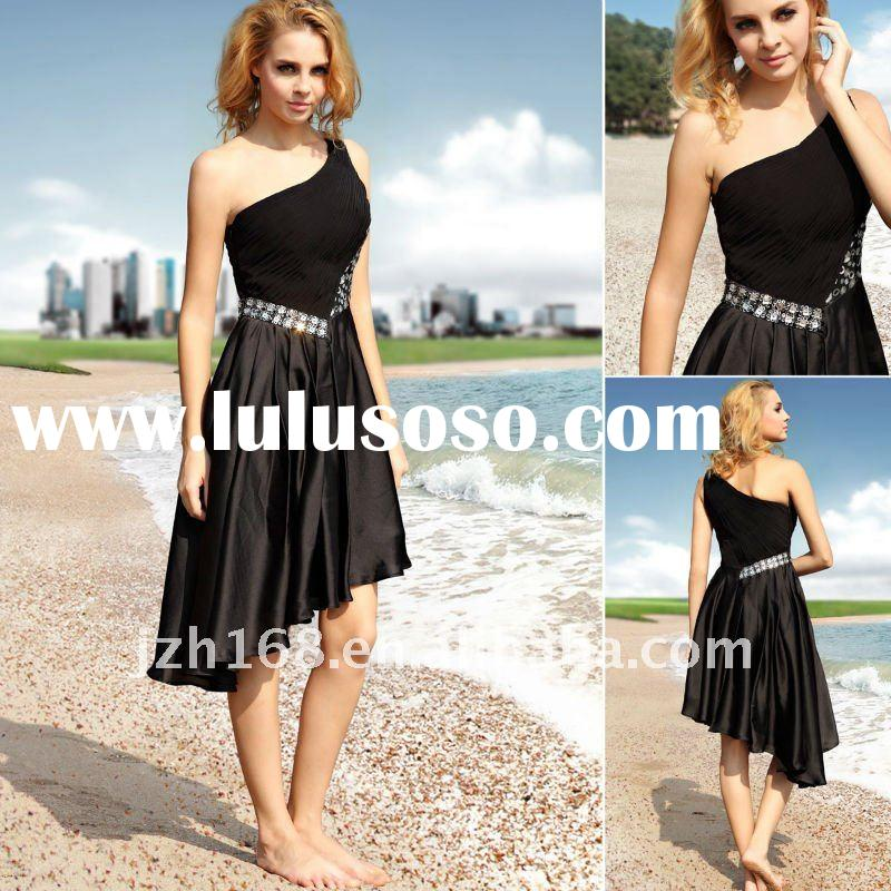 JUN&HUA 2012 high class short  fashion style noble  evening  dress Doris 82603