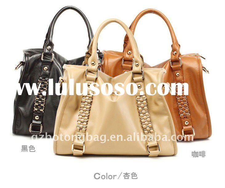 lady china handbag PU fashion bag pu women handbag