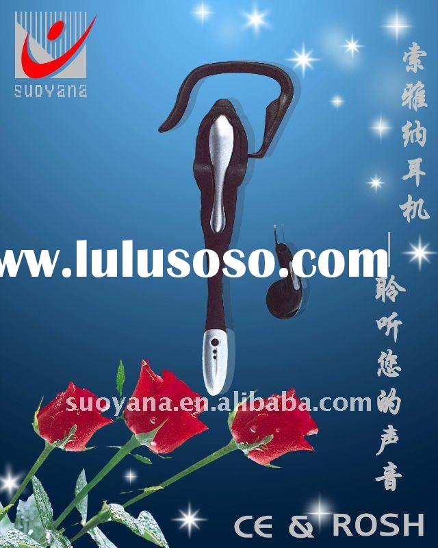 soft wearing super mini earhook headset