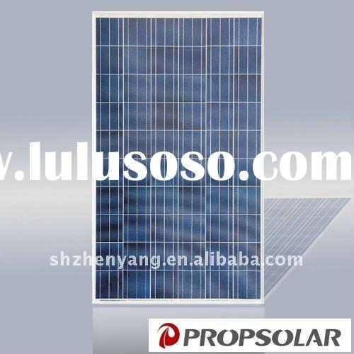 100% TUV standard flash test high efficiency poly pv solar panel 235w