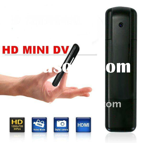 HD 720P hidden pen camera recorder  USB2.0/HDMI