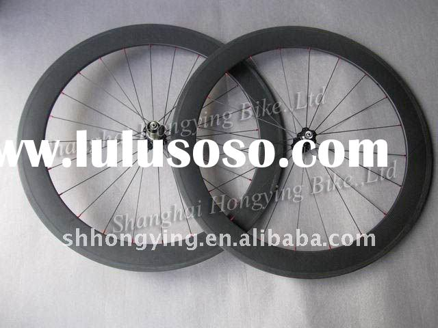 light weight of carbon wheel,60mm carbon bike wheel 3k matte finish 700C