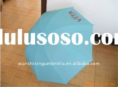 "19"" cheap straight advertising umbrella"