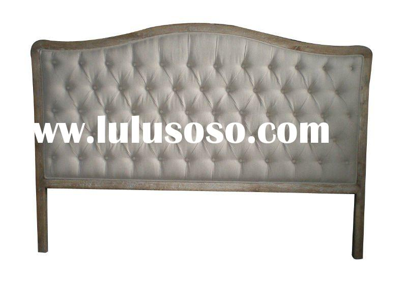 French Provincial Furniture (oak headboard HL004K)