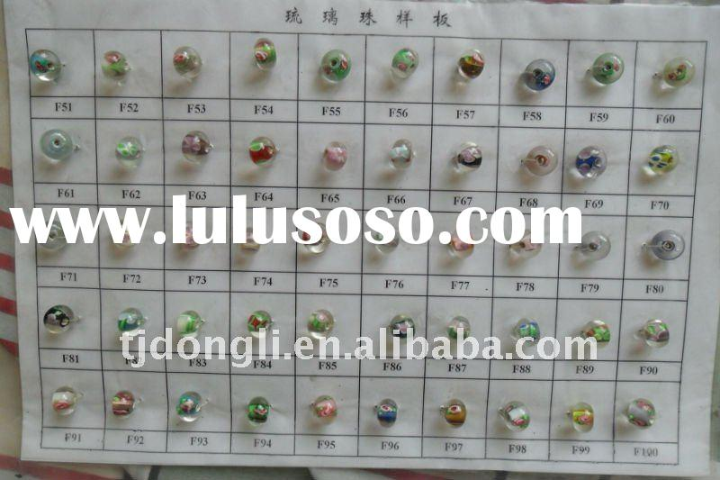 Many kinds of Model of small hole glass bead