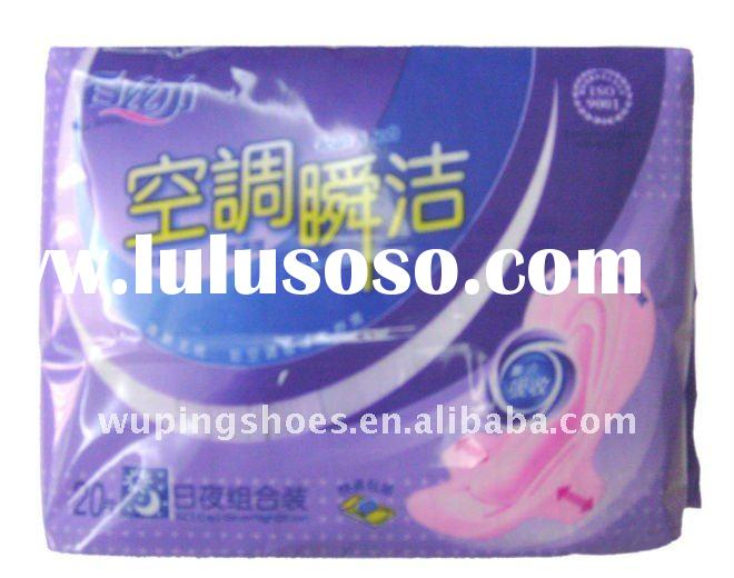 high absorbent Ultra thin anion sanitary napkin