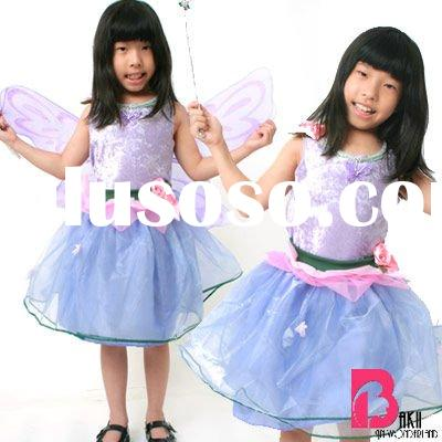 Halloween Costumes for Kids/Children---Purple Tinkle Bell