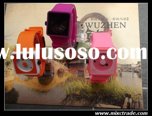 Wholesale hot fashion Silicone jelly Wrist watches china manufacturers Free Shipping