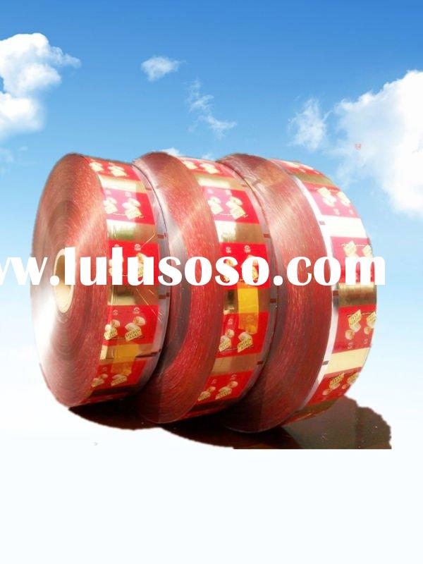 snacks packing printing film