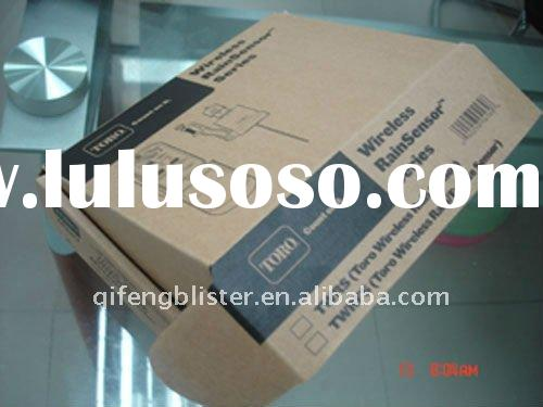 Corrugated and kraft paper packaging carton box