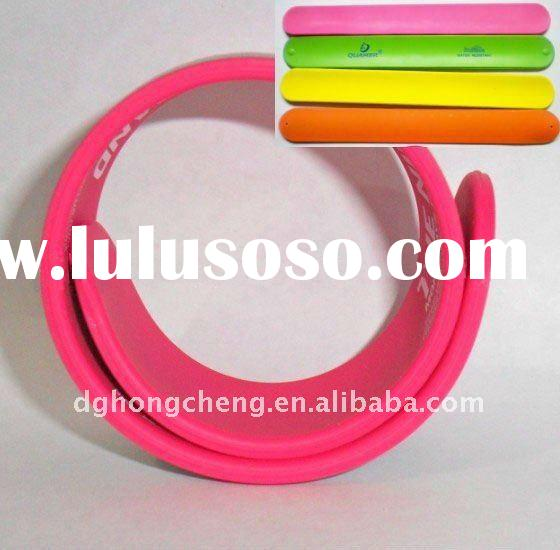 Hot Sale Silicone Slap Wristband