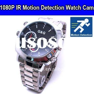 1920*1080 Full HD Motion Detection IR Night Vision Watch Camcorder