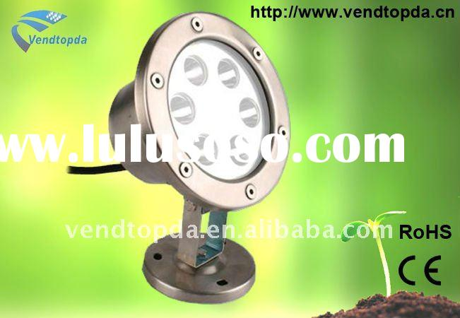 2011 New 6W high power led underwater light
