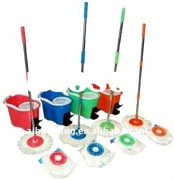 Spin mop/microfiber electric mop/reinforced nylon
