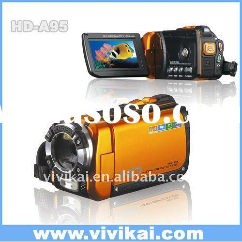 "Waterproof 16MP digital video camera with 3.0"" touch screen and internal memory from OEM&OD"