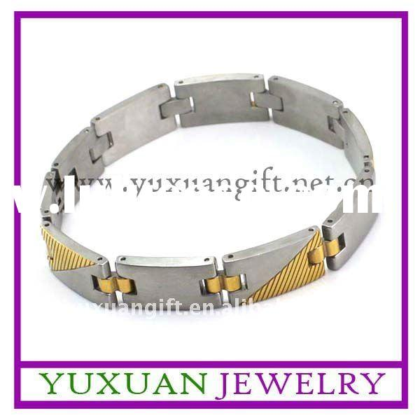 fashion men's stainless steel bracelet jewelry