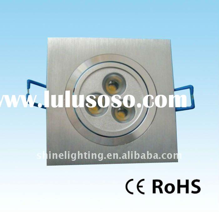 3w square Downlight (CE and RoHS)