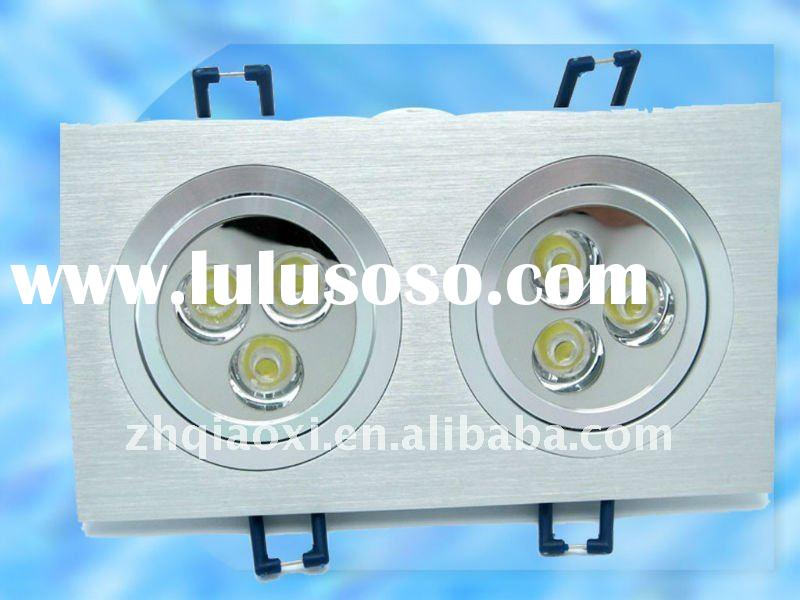HIGH POWER DOUBLE 3*1w led 6w downlight