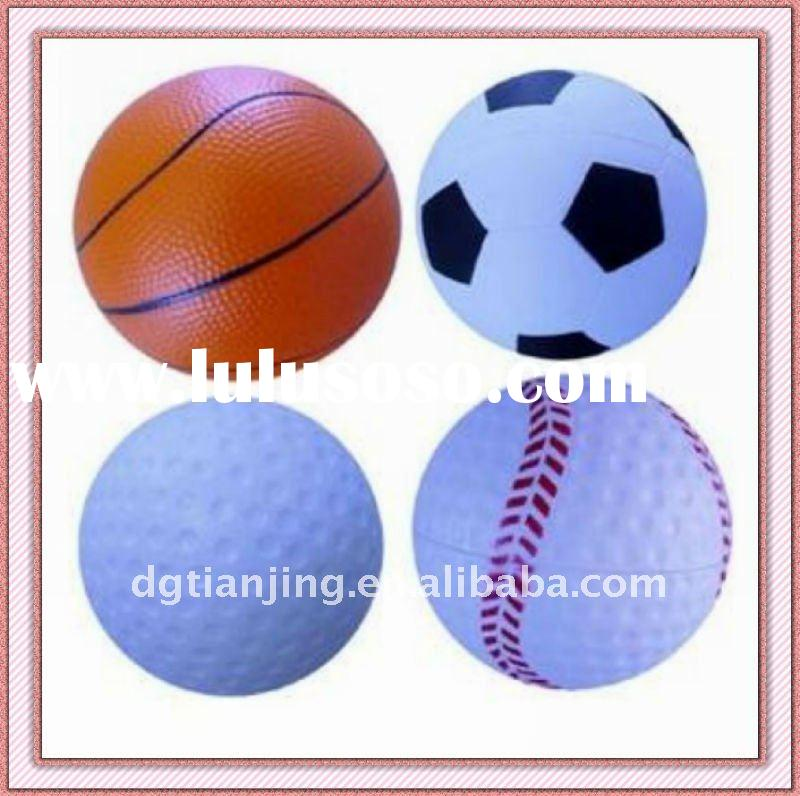 Hot-selling Sportsball shape PU Stress Ball