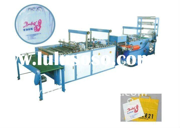 JH-B Automatic Poly Loop Handle bag making machine