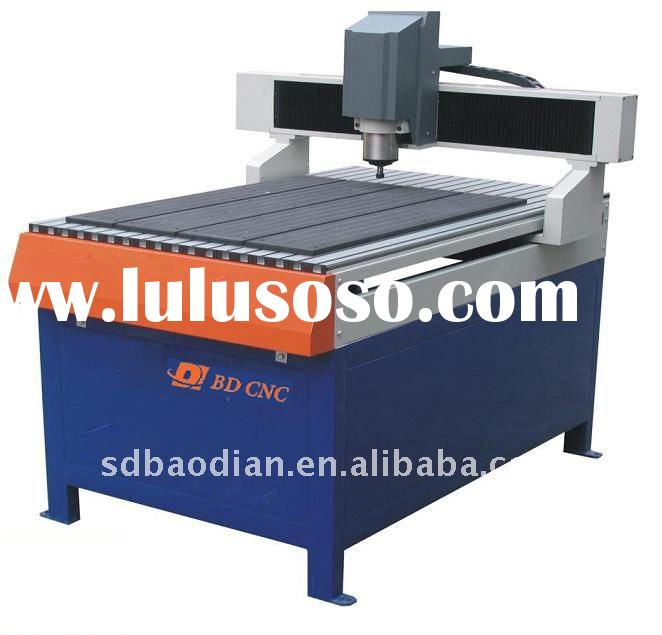 BD-6090 CE and ISO Metal cnc engraving and cutting machine