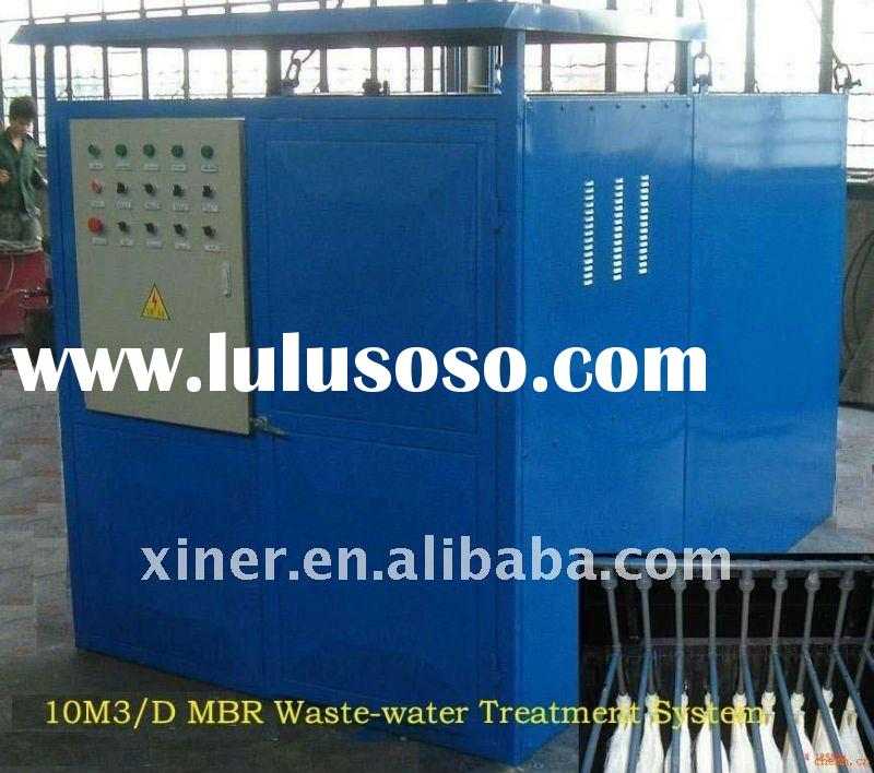 MBR waste-water treatment (integrated system)