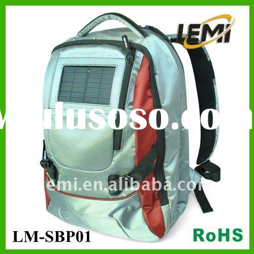 New in Hot Sale Solar Backpack with Battery Charger (Iphone and mobile phone and digital products)