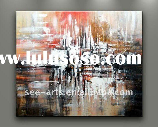 wall art decor abstract oil painting