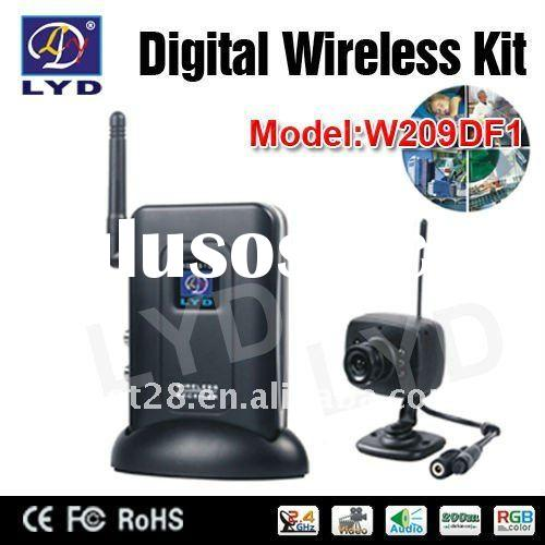 2.4GHz Digital Wireless Security Mini Camera Kit