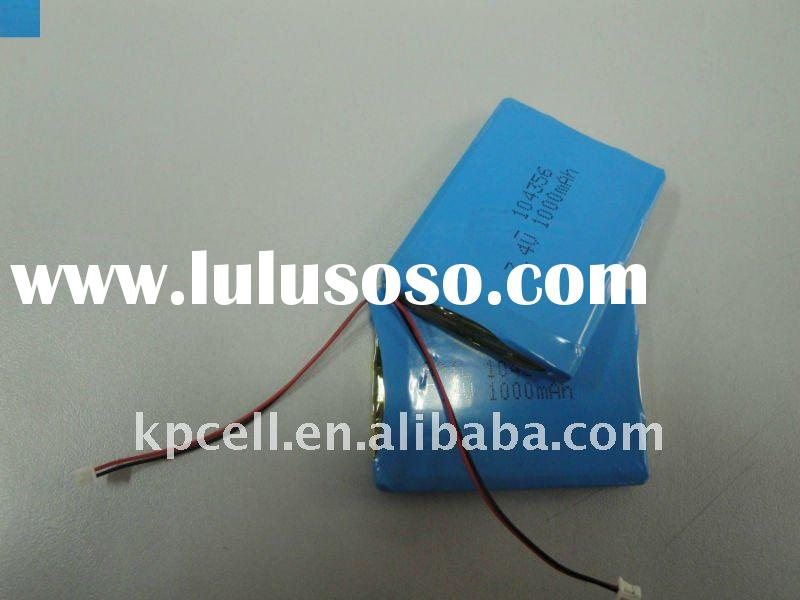 7.4V 1000mAh li-polymer battery pack /LIP/li-polymer/Polymer lithium battery