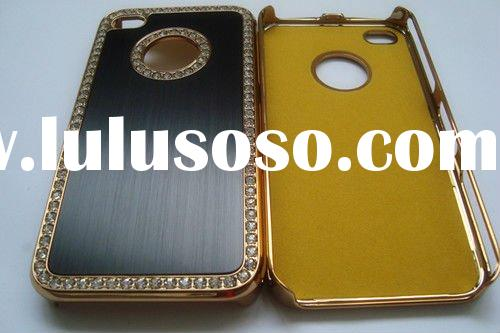 Aluminum cover cell phone Case For Iphone 4