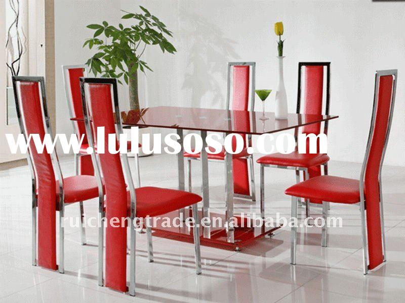 Elegant and modern glass dining table RCDT-53-1 dining room furniture