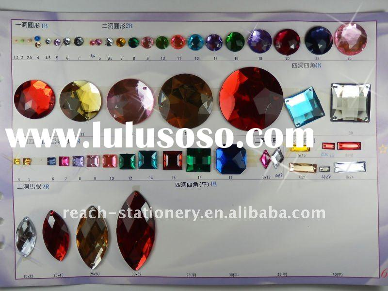 Acrylic Stones Manufacturers Mail: Acrylic Rhinestones, Acrylic Rhinestones Manufacturers In