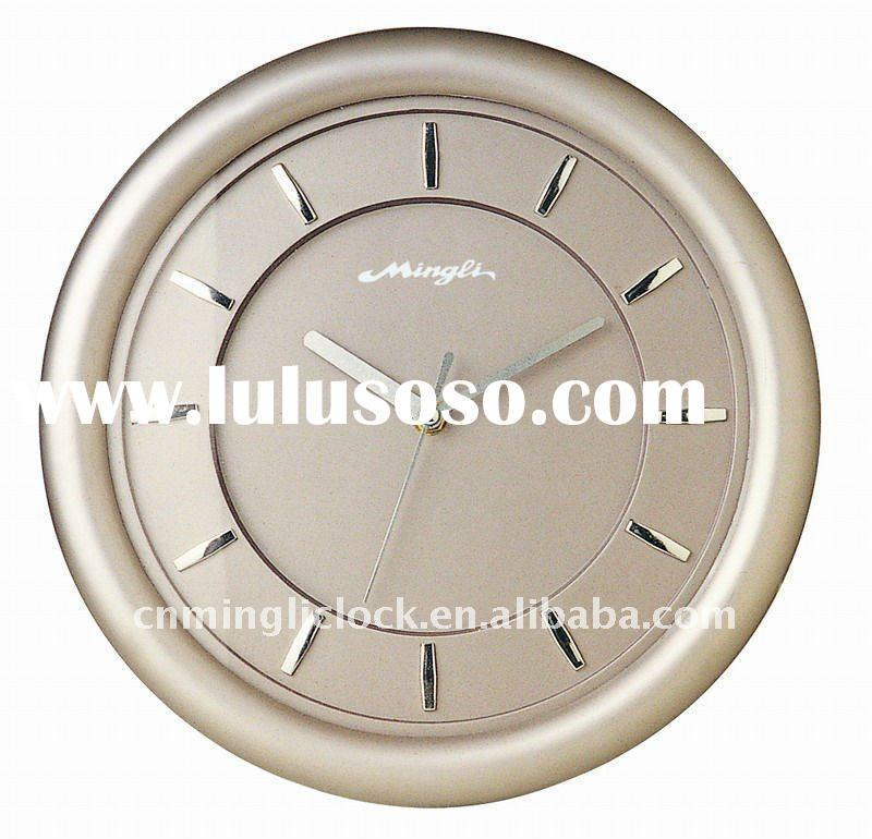 Plastic Wall Clock Modern Design 217B