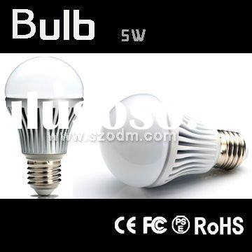Reasonable price E27 light bulb with high quality 5w led bulb light