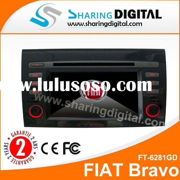 Sharing Digital FIAT Bravo Car DVD Player with GPS Blue tooth