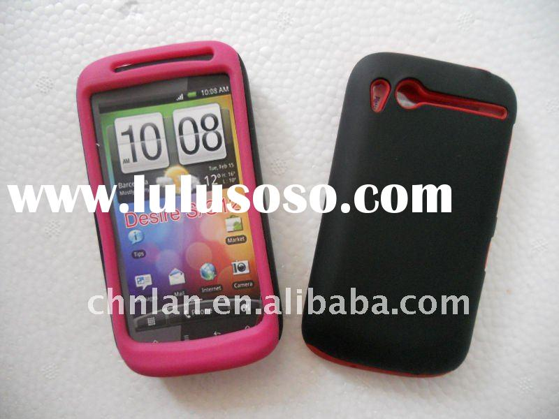 combo cases for HTC desire s G12  (hard with silicon case ,12 colors,,accept paypal)