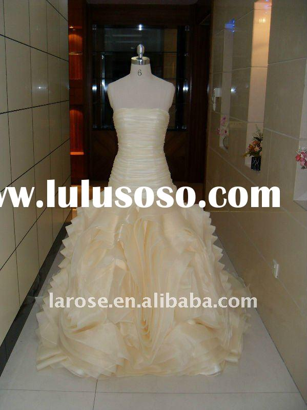 jasmine bridal gowns 2011 new arrival organza made elegant bridal gown RS0033
