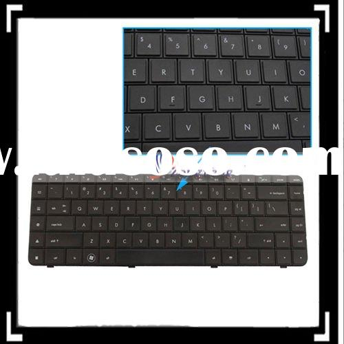 Black Waterproof Laptop Notebook Keyboard For HP Compaq Presario CQ62 G62 (Comes With Ribbon Cable)