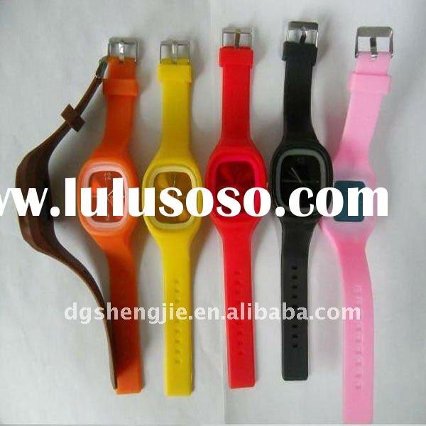 Fashional silicone jelly watch design