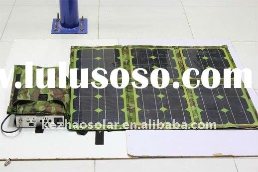 80w flexible folding solar panel charger