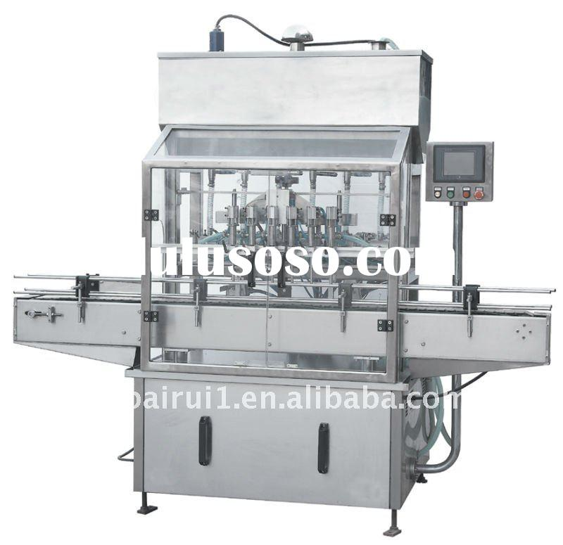 Automatic paste filling machine with 6 nozzles