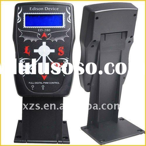 Professional latest Variable LCD Digital DUAL Tattoo Power Supply P280