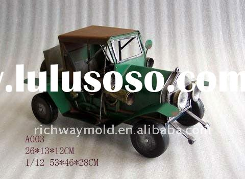 High-Quality Handmade Antique metal model Car (AS003)-Cliassic Car model(Old Fashion Car)
