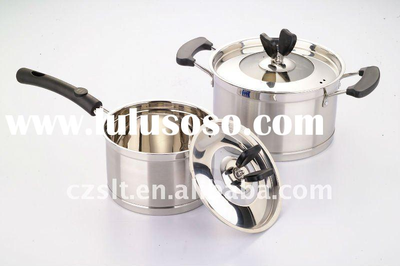 Stainless Steel Kitchen Cooking  Pot  SLT-OM