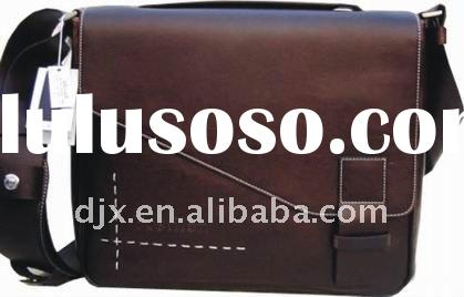 "13"" genuine leather laptop bag"