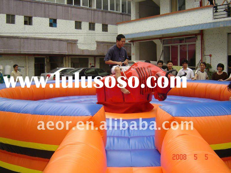 2011NEW INFLATABLE SPORTS & GAMES -  MECHANICAL BULL